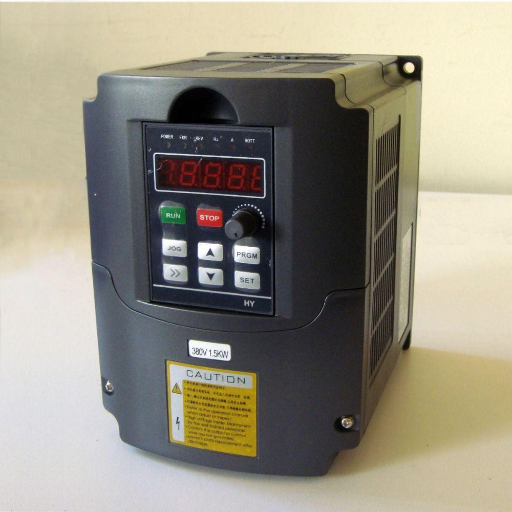 HUANYANG VFD inverter 2.2KW 220v input 380V output HY02D223B-T 2200W variouble frequency driver