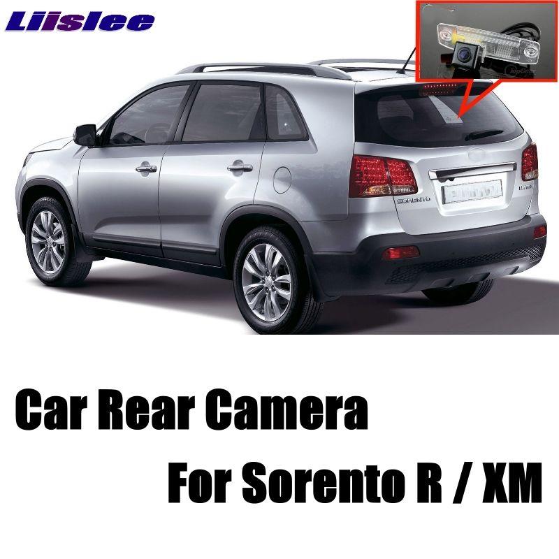LiisLee Car Camera For KIA Sorento R For NAZA Sorento XM MK2 2007~2018 High Quality Rear View Back Up Camera CCD + RCA