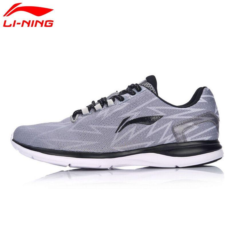 Li Ning herren Licht Runner Laufschuhe Atmungsaktive Kissen Sportschuhe Turnschuhe ARBM021 XYP493