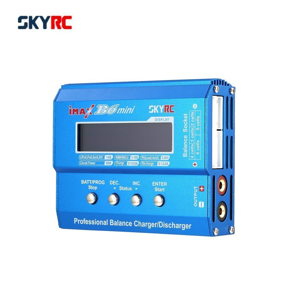 Original SKYRC IMAX B6 mini 60W Balance Charger Discharger for RC Helicopter <font><b>nimh</b></font> nicd Aircraft Intelligent Battery Charger