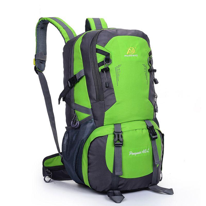 40L Camping Rucksack Reisesporttasche Große Kapazität Männer Rucksack Wandern Klettern Rucksäcke Sportlich Computer Taschen