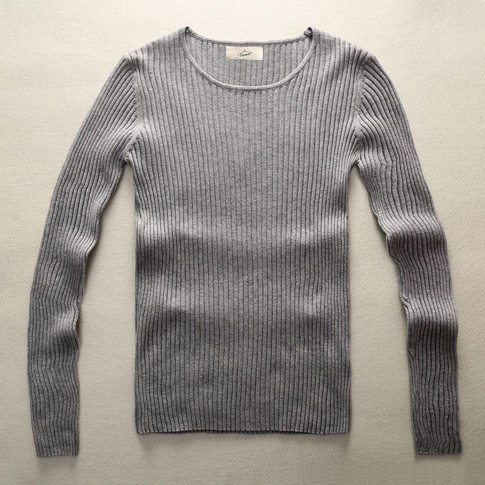 Mode hommes pull tricoté hommes élégant noir chaud chandails Slim Fit tricot motif noël