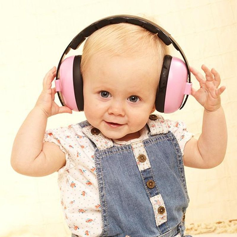 Protection auditive Bébé Oreilles De Sécurité pour 3 Mois-4 Ans Enfant Réduction Du Bruit Oreille Protecteur Oreille Manchons pour Bébés et enfants