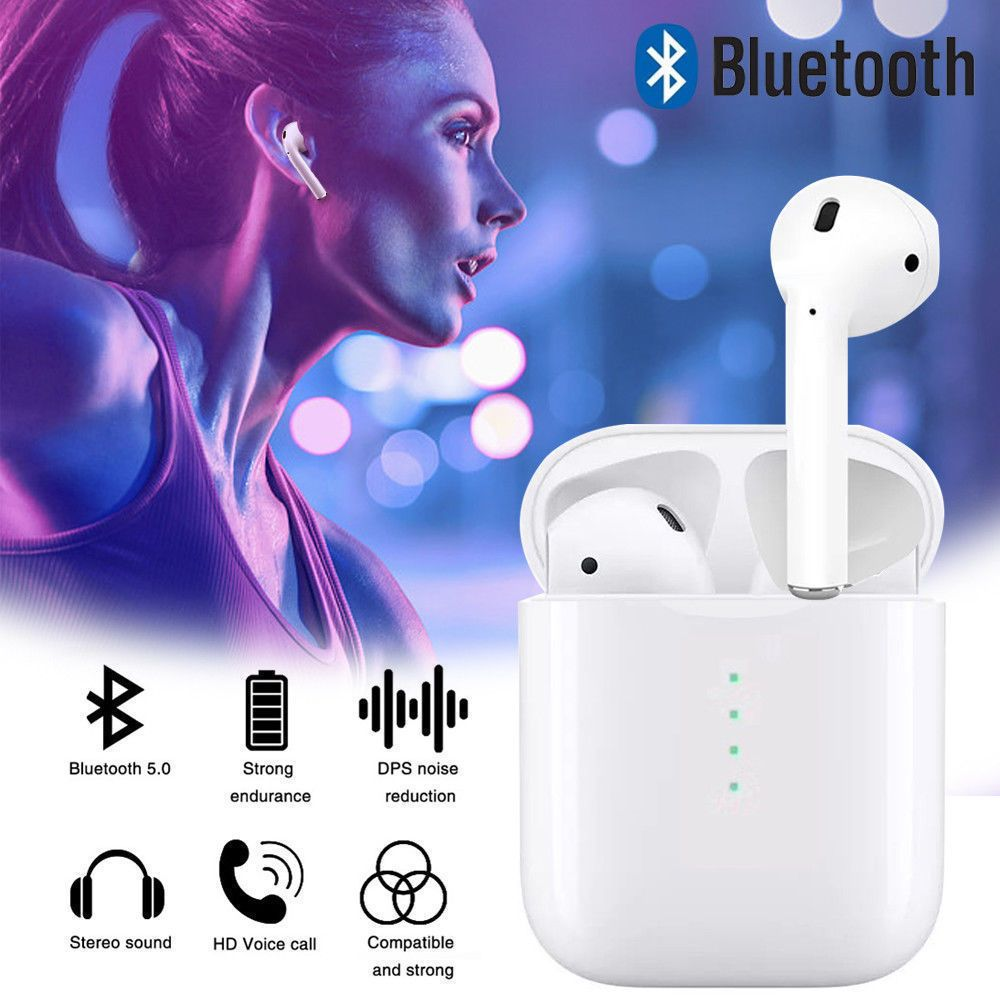 i10 TWS V5.0 Mini Bluetooth Earphones Wireless Headphones Touch control Earbuds with mic for iPhone Samsung xiaomi Android phone