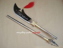Unik Besar Kwan Dao Chun Qiu Da Dao Guan Gong Pedang Qing Dao panjang Yan Yue Guandao