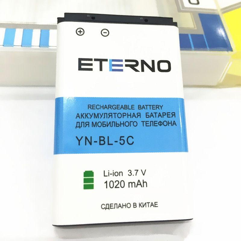 ETERNO BL-5C BL 5C BL5C Batterie pour Nokia N70 N72 E60 N91 3650 6230 1100 2300 3100 5100 6030 1020 mAh