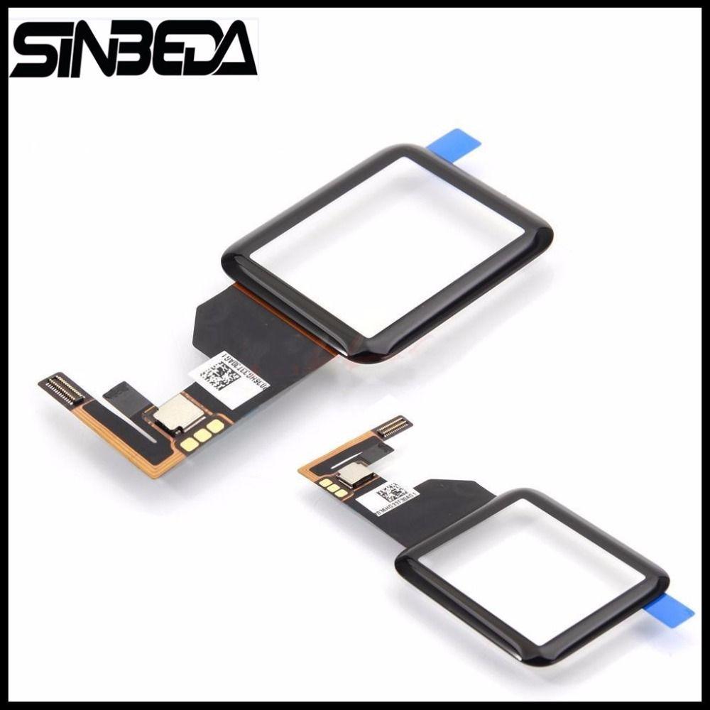 Sinbeda Hohe Qualität Schwarz Touchscreen Digitizer Glas für Apple Uhr Serie 1 38mm 42mm Sport/Sapphir version