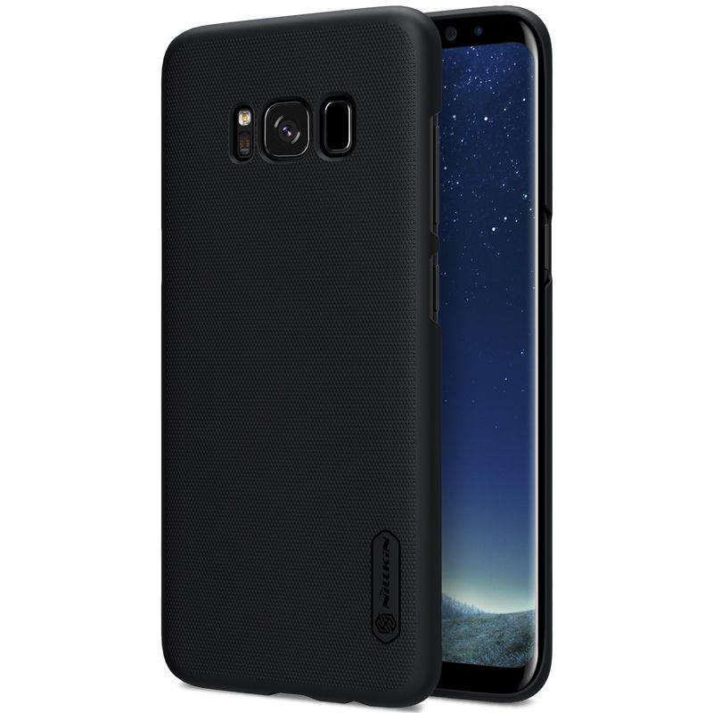 La sFor Samsung Galaxy S8/S8 Plus cas Nillkin Super Givré Bouclier Cas de Couverture Arrière pour Samsung Galaxy S8 plus avec cadeau