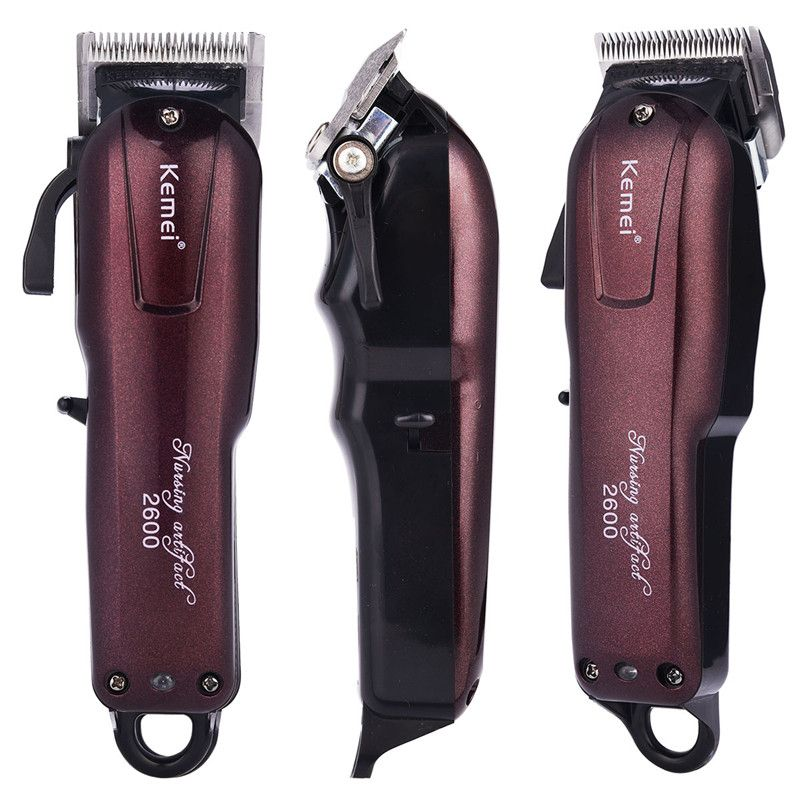 Kemei km-2600 Electric Trimmer Hair Cutter Men Hair Cutting Machine Professional Hair Clipper Beard Trimmer Razor cortador pelo