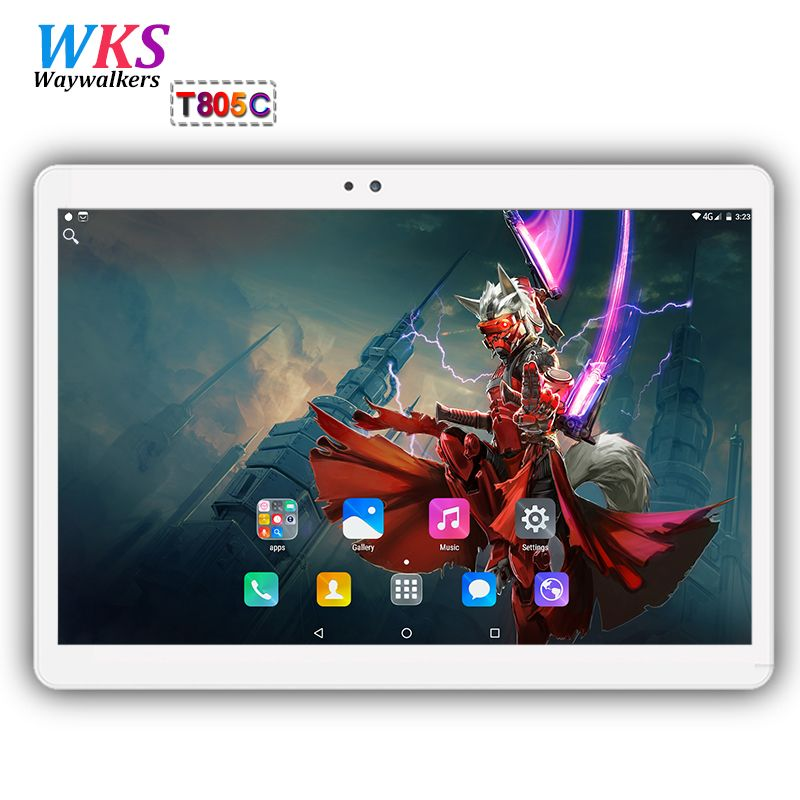 2018 Global tablet pc 10 inch Octa Core Android 7.0 4GB+64GB Octa Core Dual SIM Card WIFI Bluetooth Tablets pc Gifts MID 10 10.1