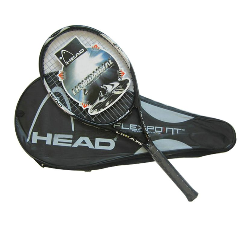 High Quality Carbon Fiber Tennis Racket Racquets Equipped with Bag Tennis Grip Size 4 1/4 racchetta da Tennis