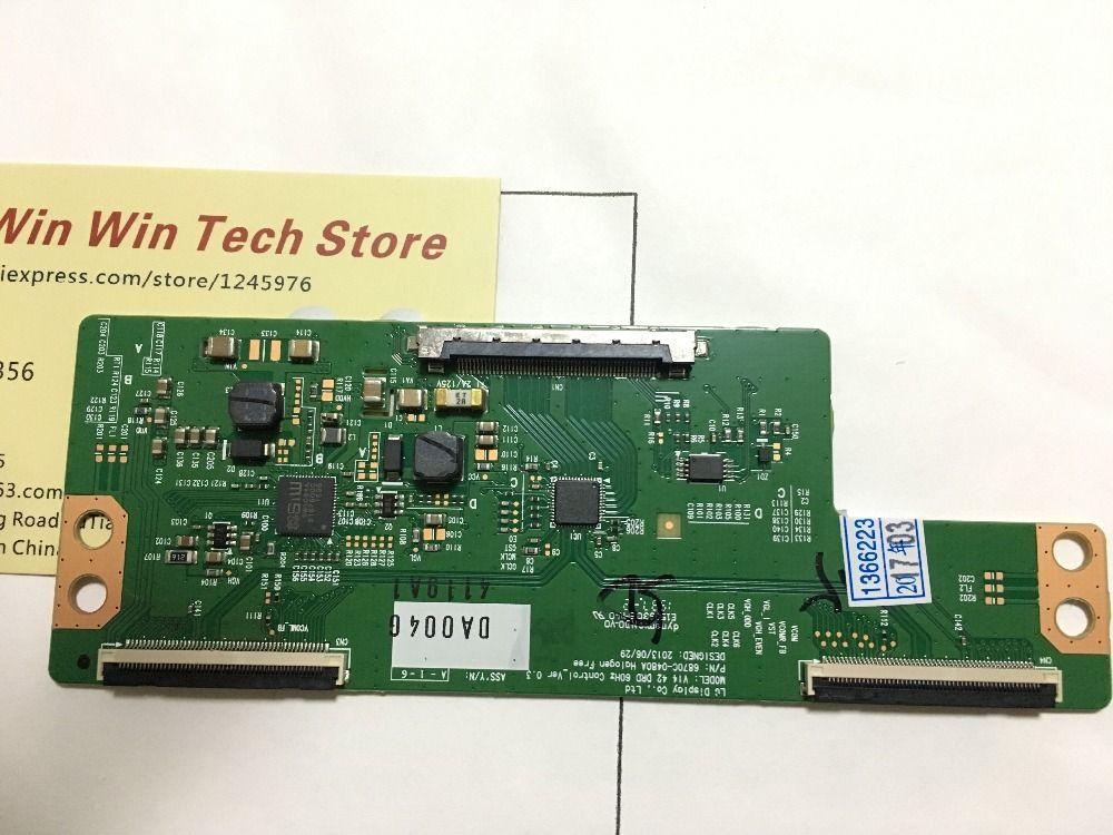 Freies verschiffen 100% neue original 6870C-0480A t-con V14 42 DRD 60 hz Control_Ver 0,3 6870C-0480A