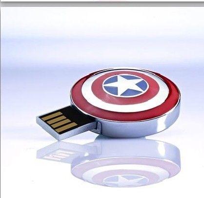 Hot!The Avengers pen drive Captain America flash card Iron Man usb stick The Hulk Thor 8G 16G 32G 64G 128G USB2.0 usb flash gift