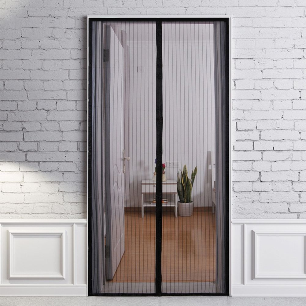 210 X 100cm Hands-free Magnetic Summer Anti-Mosquito Curtains Encryption Mosquito Net On the Door Magnets Door Curtain