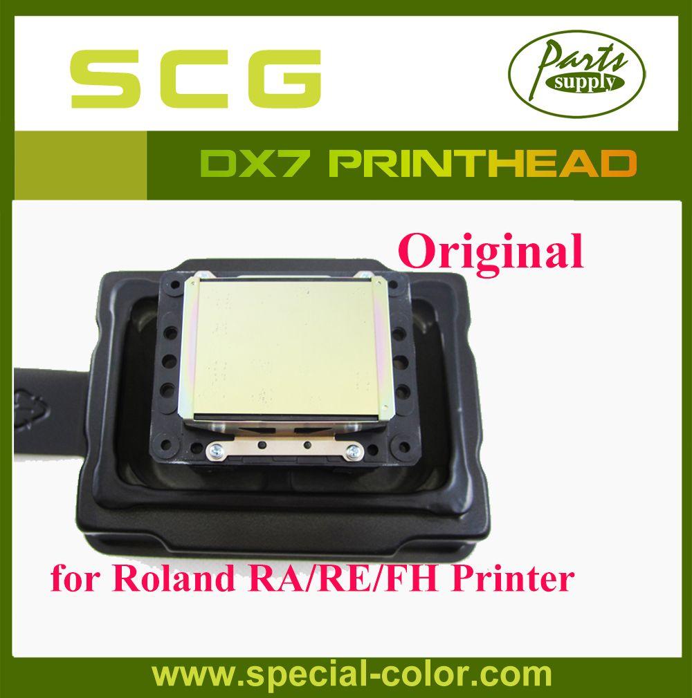 Japan DX7 Solvent Printhead Original for Epson DX6 Print Head for Roland VS/RA/FH
