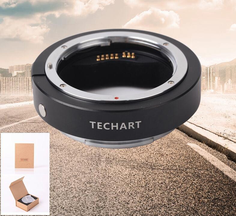 Techart EF-GFX EF-FG01 Canon EF Lens to Fujifilm GFX Autofocus Adapter EXIF firmware UPR