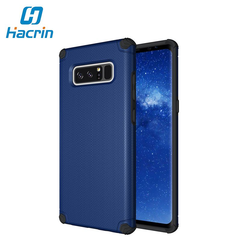 New Design 100% New Anti-knock Shield Hard Light Dual Armor Protector Phone Back Cute Cases Cover For Samsung Galaxy Note 8