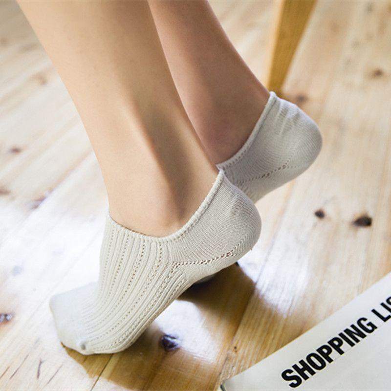 children cotton socks, shallow socks, ladies invisible socks, silicone Slip Socks, pure cotton socks-40pairs