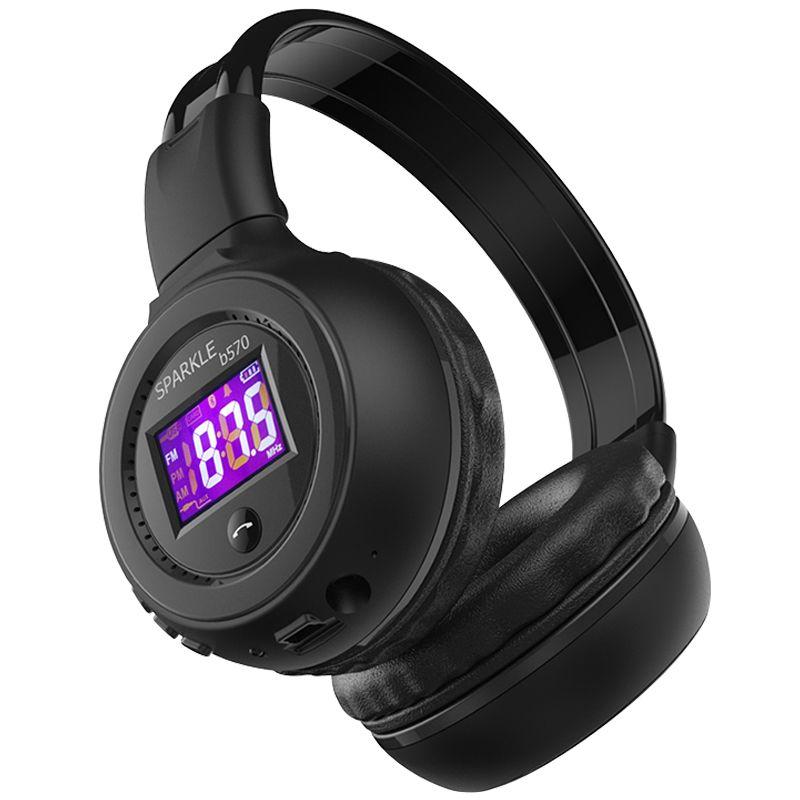 ZEALOT B570 HiFi Stereo Bluetooth Headphone Wireless Headset With Microphone FM Radio Micro SD Card Play