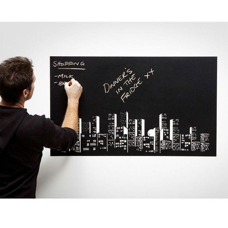 45x200 см винил Мел Доска Съемный фрески Переводные картинки подарки для детей DIY искусства доске обои
