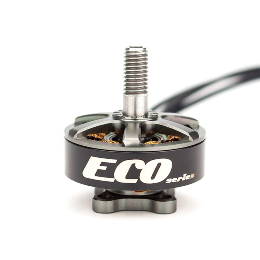 Livraison gratuite moteur sans brosse officiel Emax ECO série 2306 1700KV/2400KV pour Drone de course quadrirotor RC avion FPV
