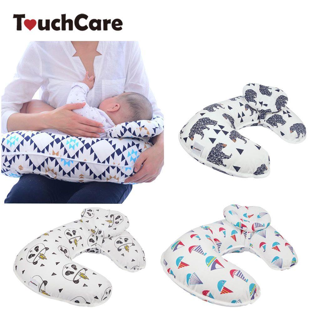 2Pcs/Set <font><b>Baby</b></font> Nursing Pillows Maternity <font><b>Baby</b></font> Breastfeeding Pillow Infant Cuddle U-Shaped Newborn Cotton Feeding Waist Cushion