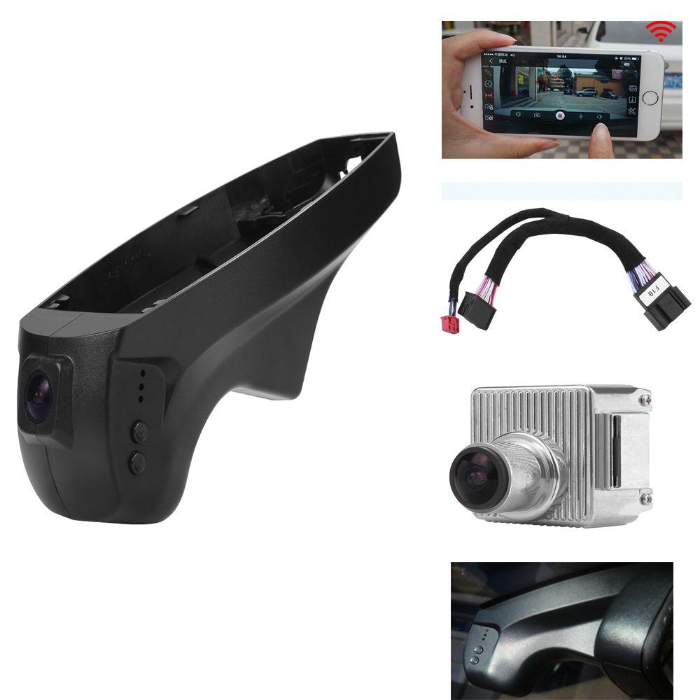 PLUSOBD Cachée HD Voiture DVR Spécial Pour BMW E90 E91 E87 E84 X1 Faible Modèle Avec Noir Dash Cam Caméra Avec En Aluminium alliage + OBDII