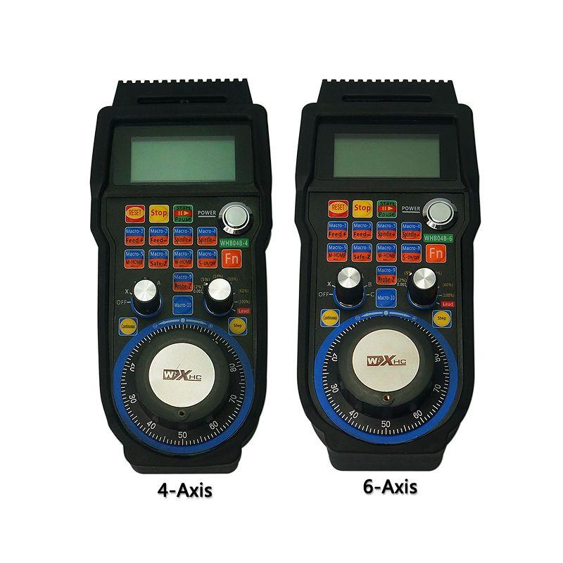 Drahtlose Mach3 Handrad USB MPG Anhänger Controller für CNC Maschine drehmaschine 3, 4 achsen Großhandel Preis (WHB04B-4 und WHB04B-6)