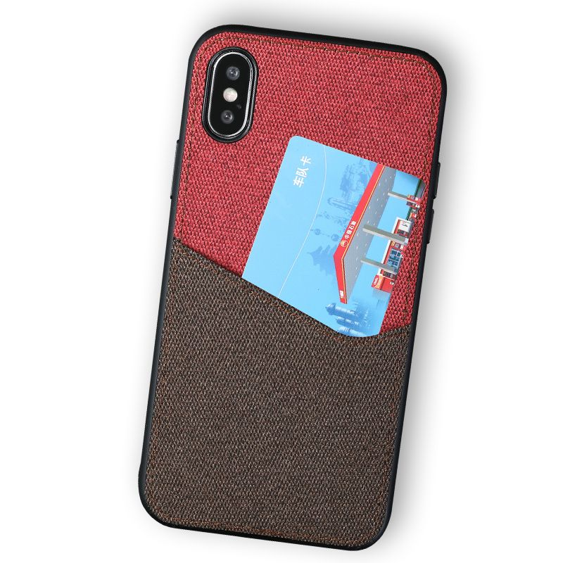 splice fashion phone case for iphone x xs XSmax XR 6 7 8 8plus Multifunction Magnetic attraction protective case
