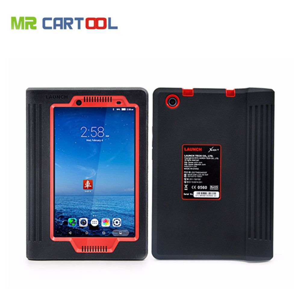 Original Launch X431 V 8 zoll Tablet Wifi/Bluetooth Full System-Diagnose-Tool Zwei Jahre Kostenloser Update Online