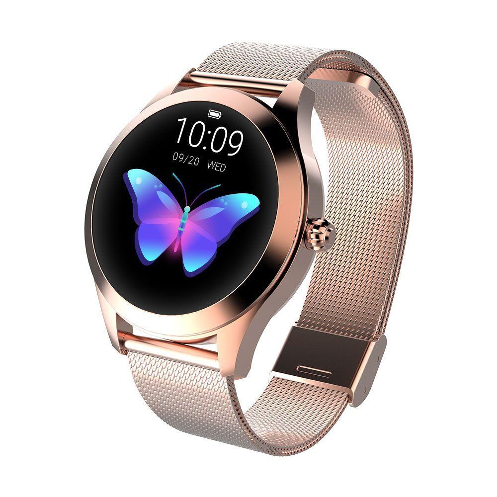 696 Dames/Femmes Sport montre connectée bracelet de fitness IP68 Étanche Surveillance de la Fréquence Cardiaque Bluetooth Pour Android IOS Smartwatch