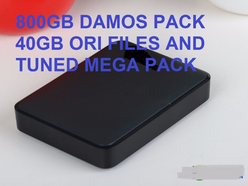 Winols 2.24\2.26+800GB DAMOS PACK 40GB ORI FILES AND TUNED PACK+HDD 1TB all modes update to 2015++Ecm titanium 26000 drivers