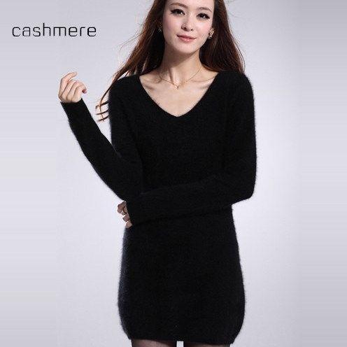 Freies verschiffen herbst und winter frauen lange pullover kleid paket hüfte shirt weibliche pullover pullover casual pullover dame