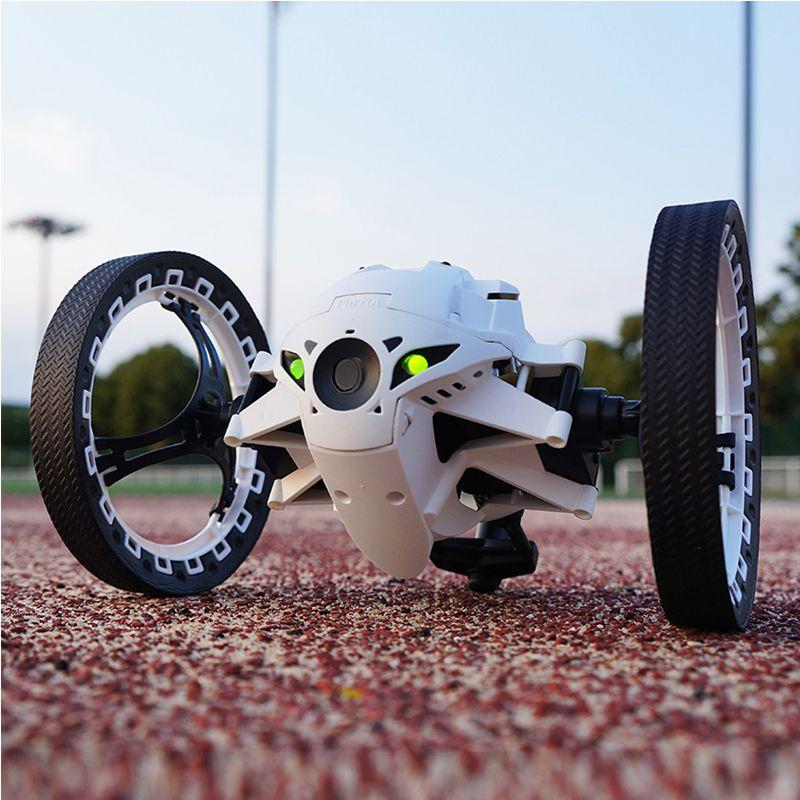 RC rebond voiture PEG 803 805 2.4G voiture sautante avec caméra WIFI 2.0mp roues flexibles Rotation LED veilleuse RC Robot voiture cadeau