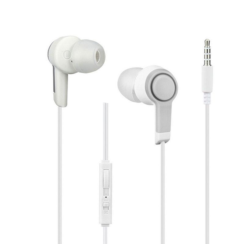 Neue Design Line Control in-ohr kopfhörer Verdrahtete Kopfhörer Noise Cancelling Headset Mit Mikrofon Für Bluetooth-mobiltelefon-player