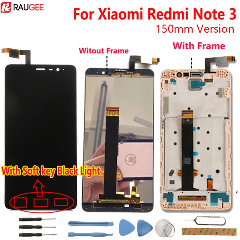 Xiaomi <font><b>Redmi</b></font> Note 3 LCD Display +Touch Screen Digitizer Glass Panel Assembly Screen For Xiaomi <font><b>Redmi</b></font> Note 3 Pro Prime 5.5'' FHD