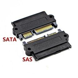SFF-8482 SAS To SATA 180 Degree Angle Adapter Converter Straight Head ST for dell motherboard