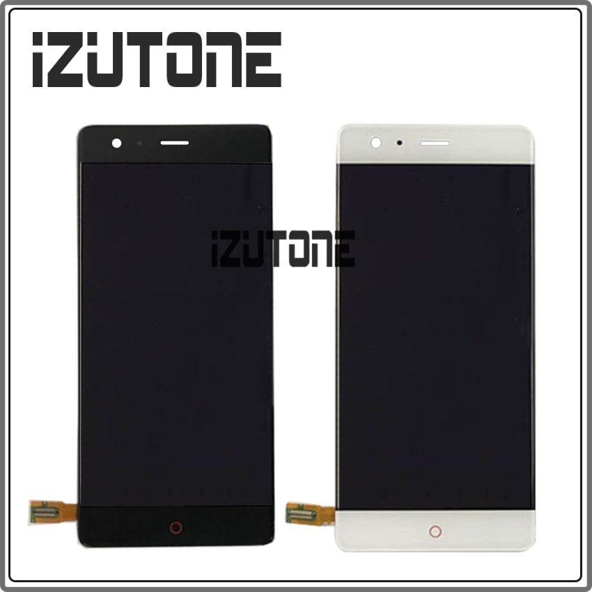 For ZTE Nubia Z17 NX563J Borderless 6GB/8GB RAM 64GB/128GB ROM LCD Display Touch screen Digitizer Snapdragon 835 Octa