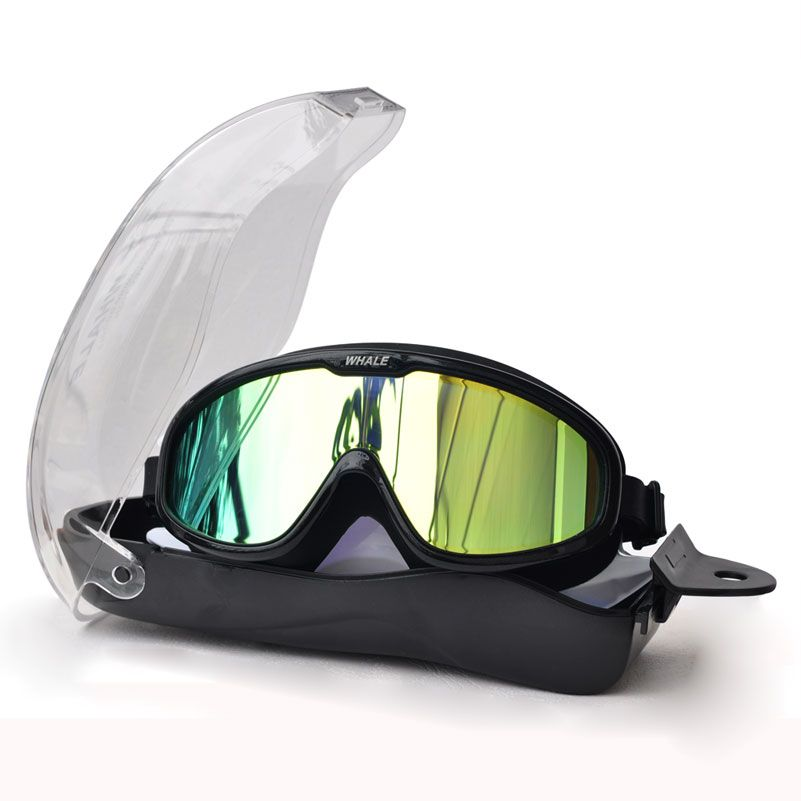 Professionelle Wasserdichte weichem silikon gläser schwimmen Brillen Anti-Fog UV männer frauen goggles