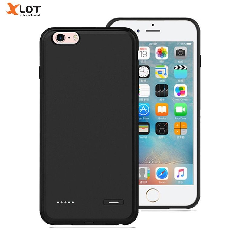 External Battery Charger Case for iPhone 6 6s 6Plus 2500/3700mAh Backup Pack Portable Power Bank Ultra Slim Charger Case Cover
