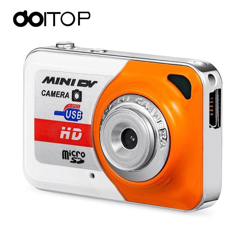 DOITOP Camera Mini HD Ultra Portable 1280*1024 Super Mini Camera X6 Video Recorder Digital Small Camera DV