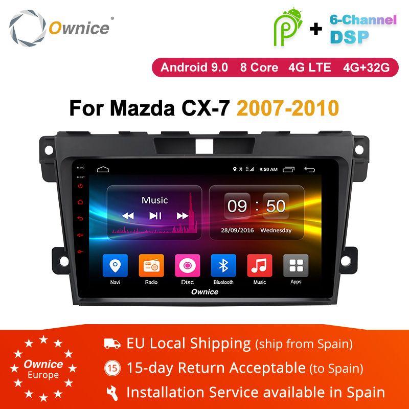 Ownice K1 K2 K3 Android 9.0 2 din Auto DVD radio stereo-multimedia-Player Für Mazda CX7 CX-7 CX 7 2007 -2010 steuergerät GPS navi