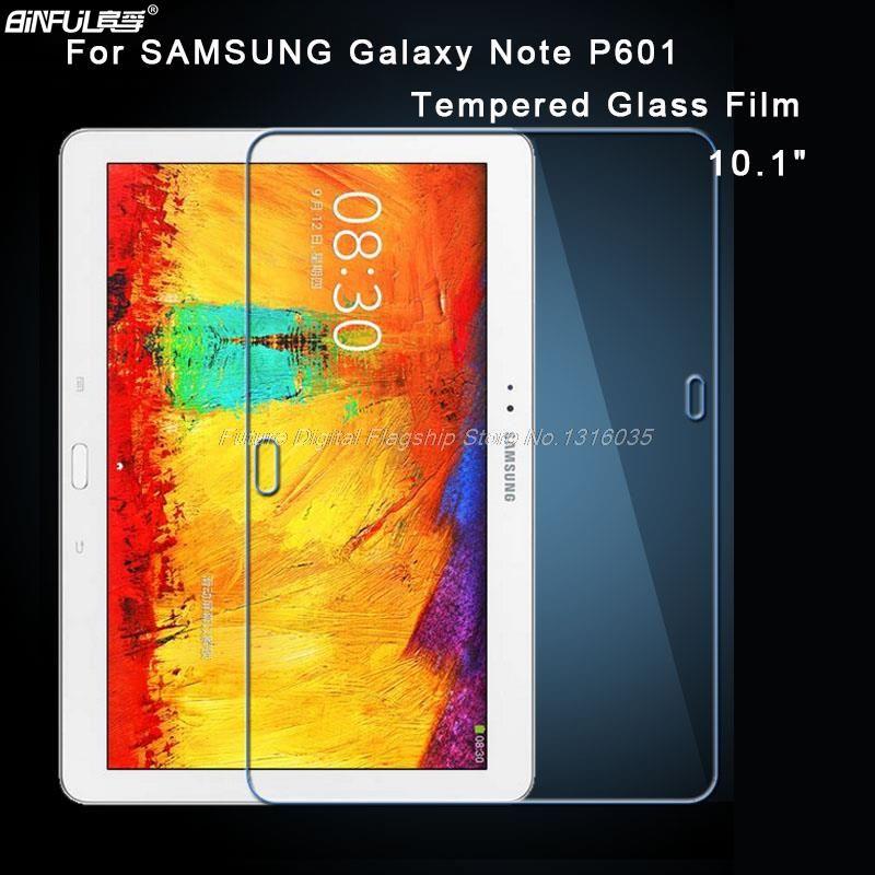 BINFUL Premium verre trempé pour Samsung Galaxy Note 10.1 P600/P601 tablette 9 H dur Film protecteur d'écran anti-empreintes digitales