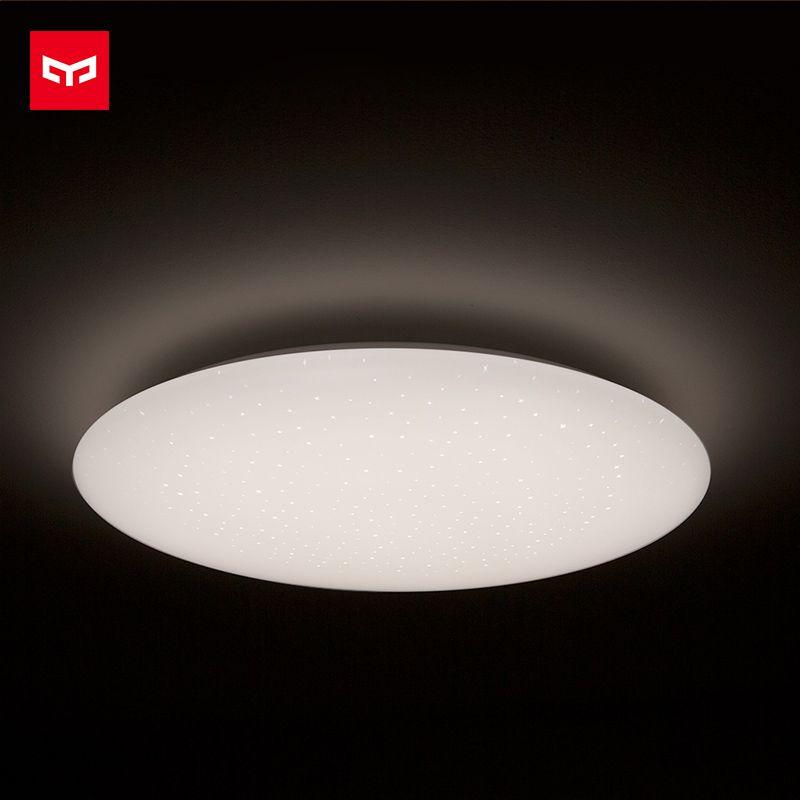 Xiaomi Yeelight Lampe de Plafond Étoilé Ciel Version Plafonnier App Contrôle Réglable Luminosité 480mm Étanche À La Poussière Bug