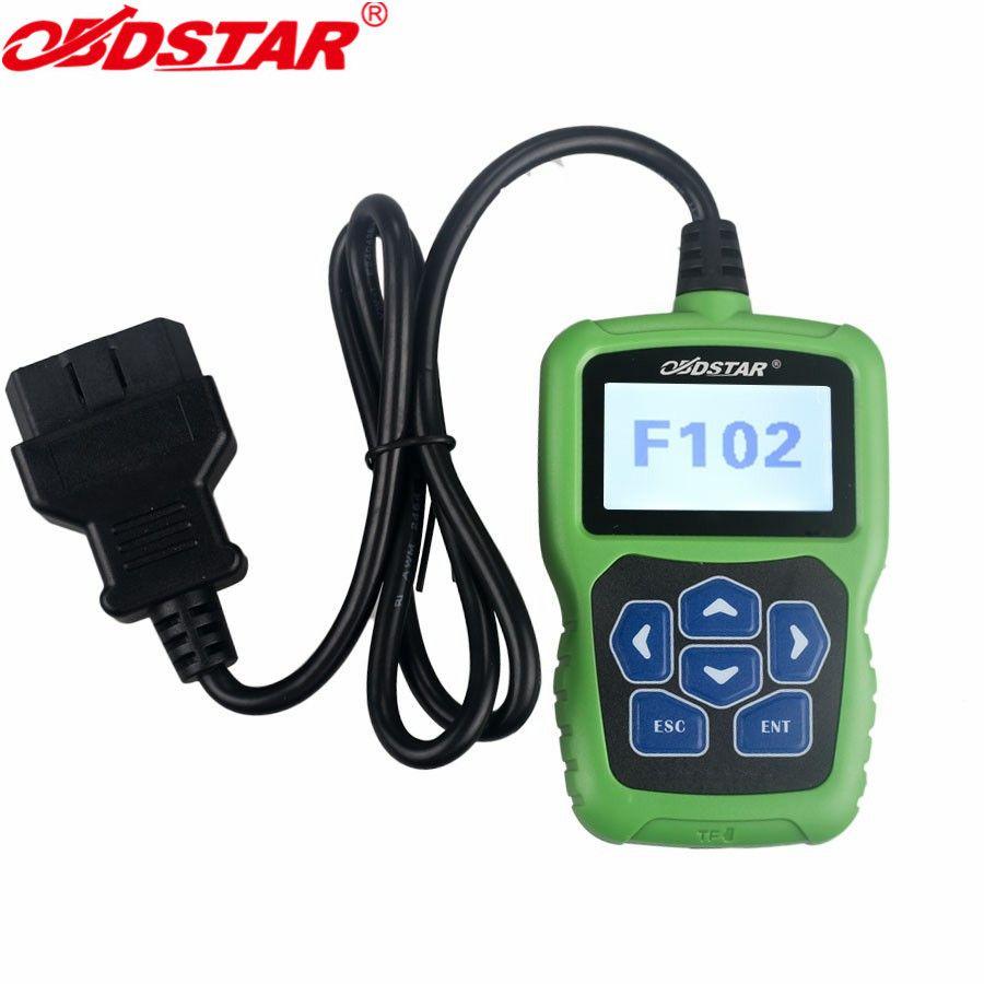 OBDSTAR F102 Automatische Pin Code Reader für Nissan/Infiniti Auto Schlüssel programmierung Laufleistung Korrektur F102 Pin Code Rechner