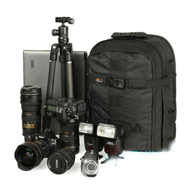 Promotion Sales NEW Genuine Lowepro Pro Runner 350 AW Shoulder Bag Camera bag <font><b>put</b></font> 15.4 laptop with All weather Rain cover