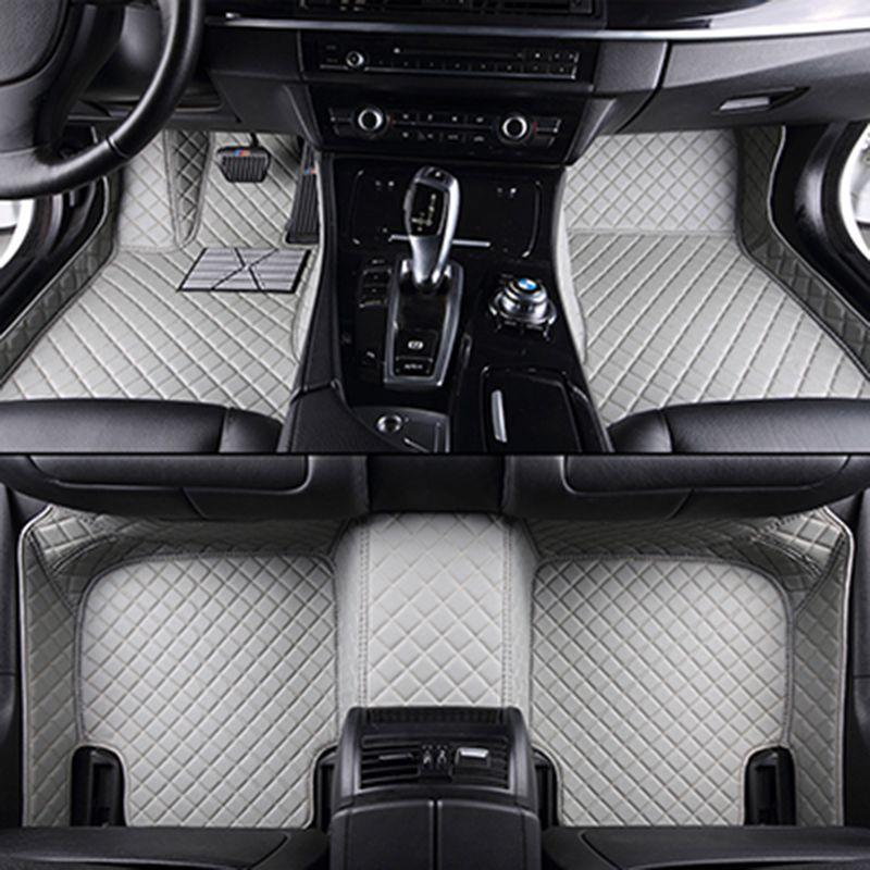Custom car floor mats for geely All Models emgrand EC715 EC718 EC7 EC8 turnkey car accessorie car styling floor mat