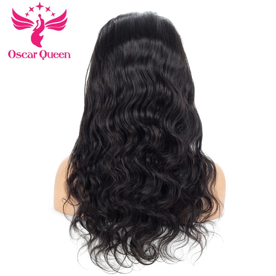 Pre Plucked Full Lace Human Hair Wigs For Black Women 130% Density Malaysian Hair Wig With Baby Hair Body Wave Full Lace Wig