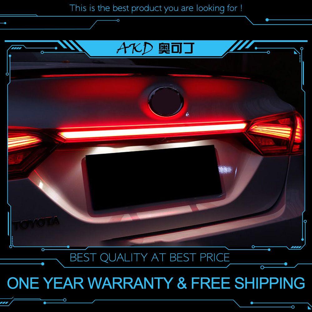 AKD tuning autos rückleuchten Für Toyota Camry 2018 2019 Hybrid Rückleuchten LED DRL tagfahrlicht Nebel leuchtet Hinten parkplatz lichter
