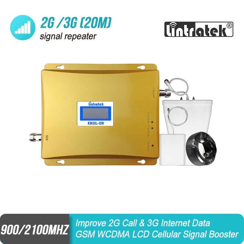 LCD Display GSM 900mhz 3G 2100mhz Dual Band Mobile Signal GSM Repeater 65dB 900 UMTS 2100 Cell Phone Booster celular Amplifier#9